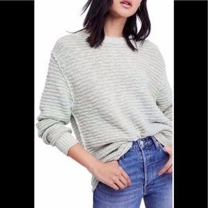 Free People Moss Menace Sweater Sz L NWT
